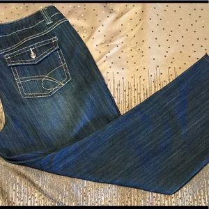 INC Stretch denim jeans size 16.